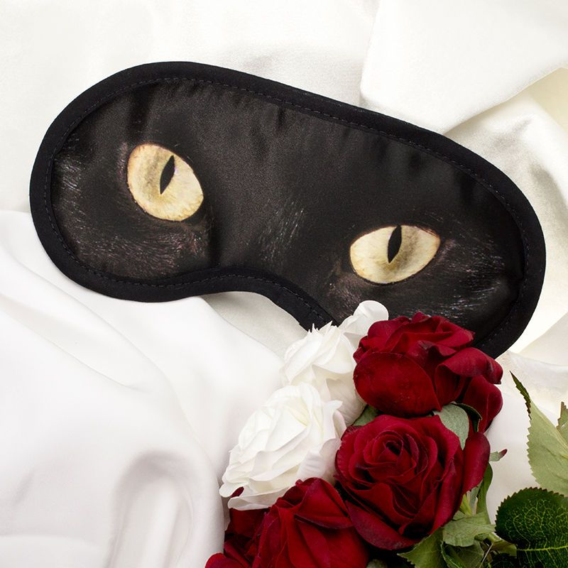custom printed eye sleep mask