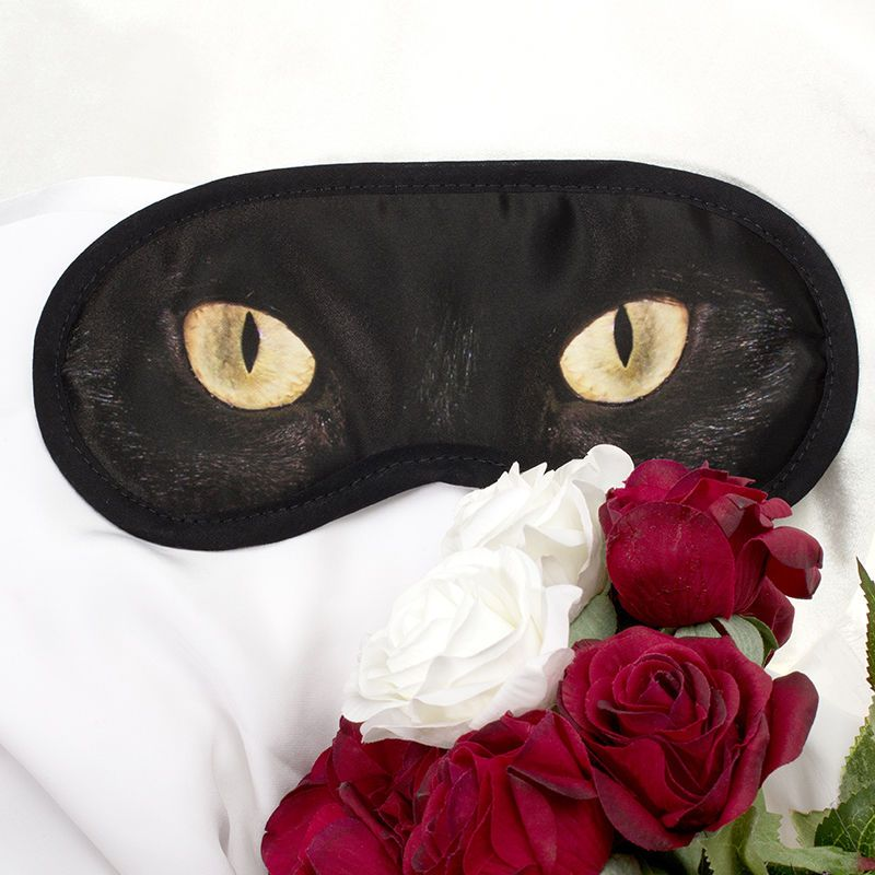 schlafmaske mit augen bedrucken