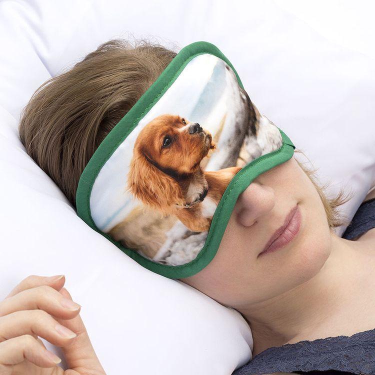 Schlafmaske bedrucken