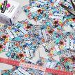 pack échantillons tissus imprimés avec nom