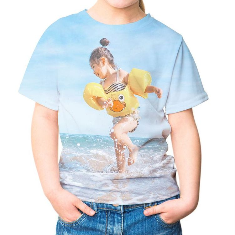 Children's T shirt swimming