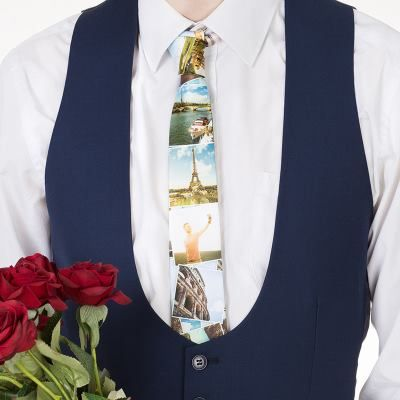 corbata para navidad