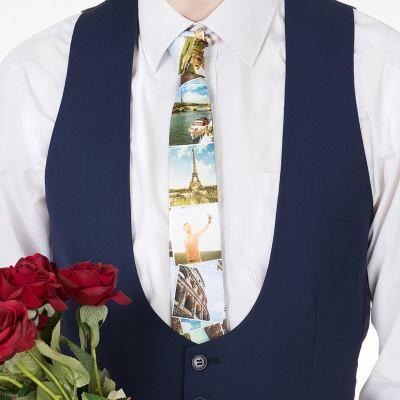 corbata personalizada regalo de navidad para hombres