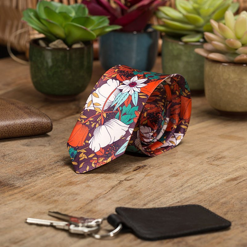 Cravate personnalisable en couleur