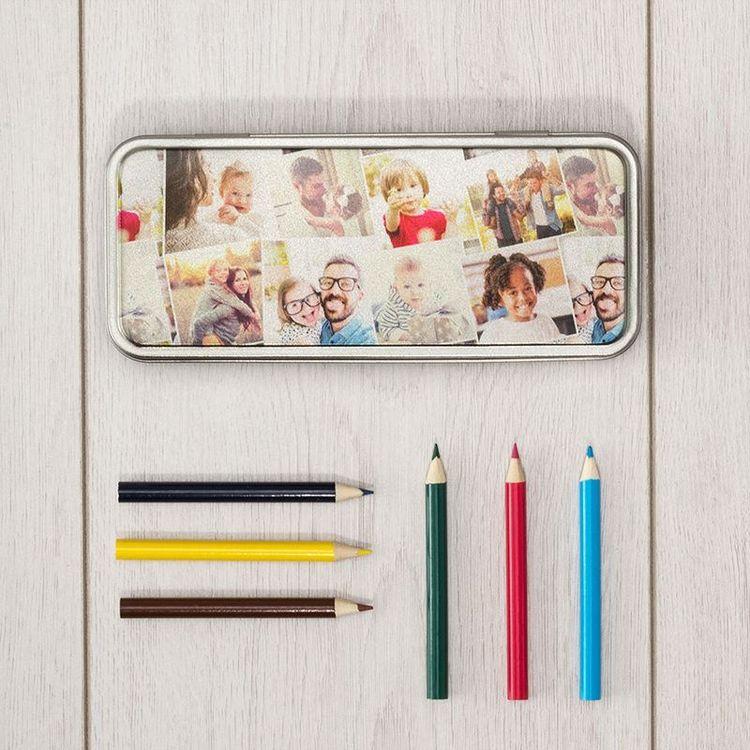 Stifte Etui für den Schulanfang