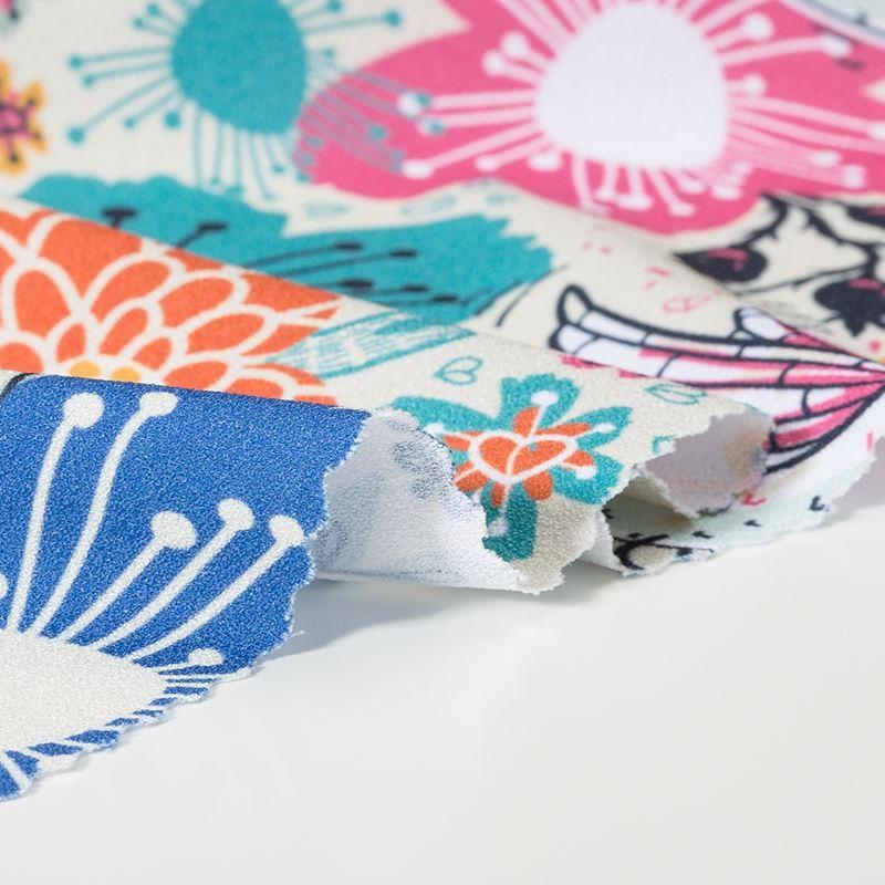 tissu crêpe mode détail