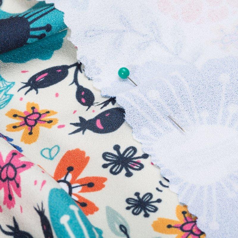 stampa su stoffa crepe online