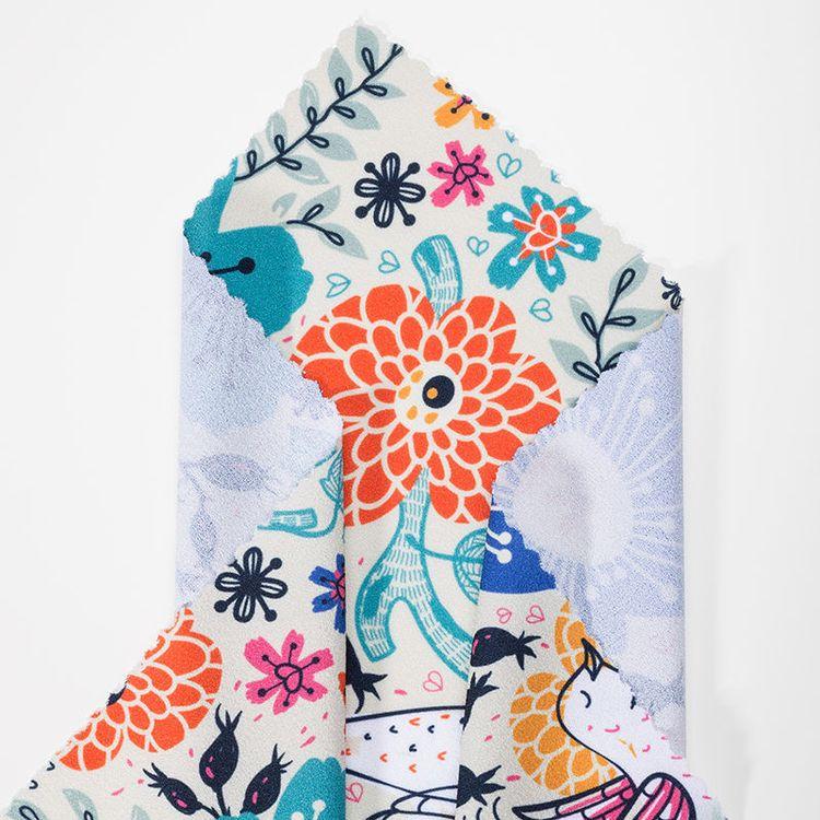 Custom Crepe Fabric