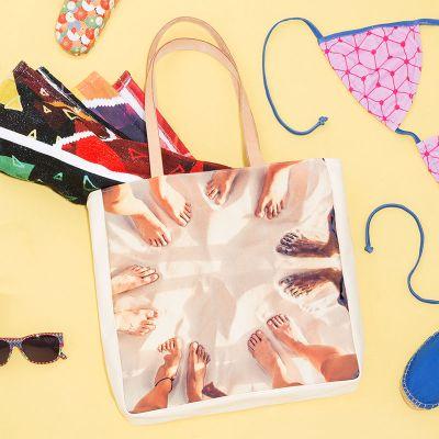 bolsa de playa para viajar personalizada
