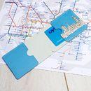 Oyster card holder custom printed