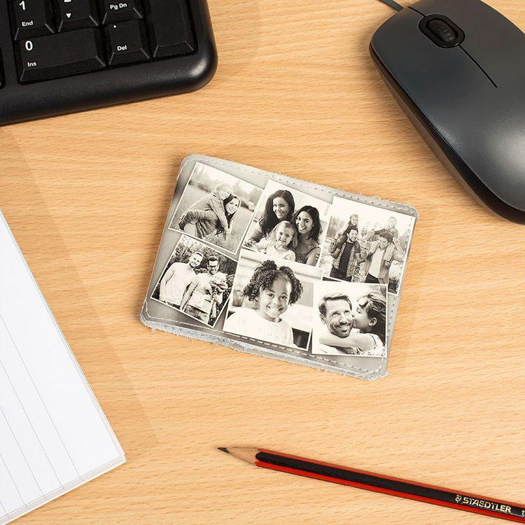 kaartenhouder met fotocollage