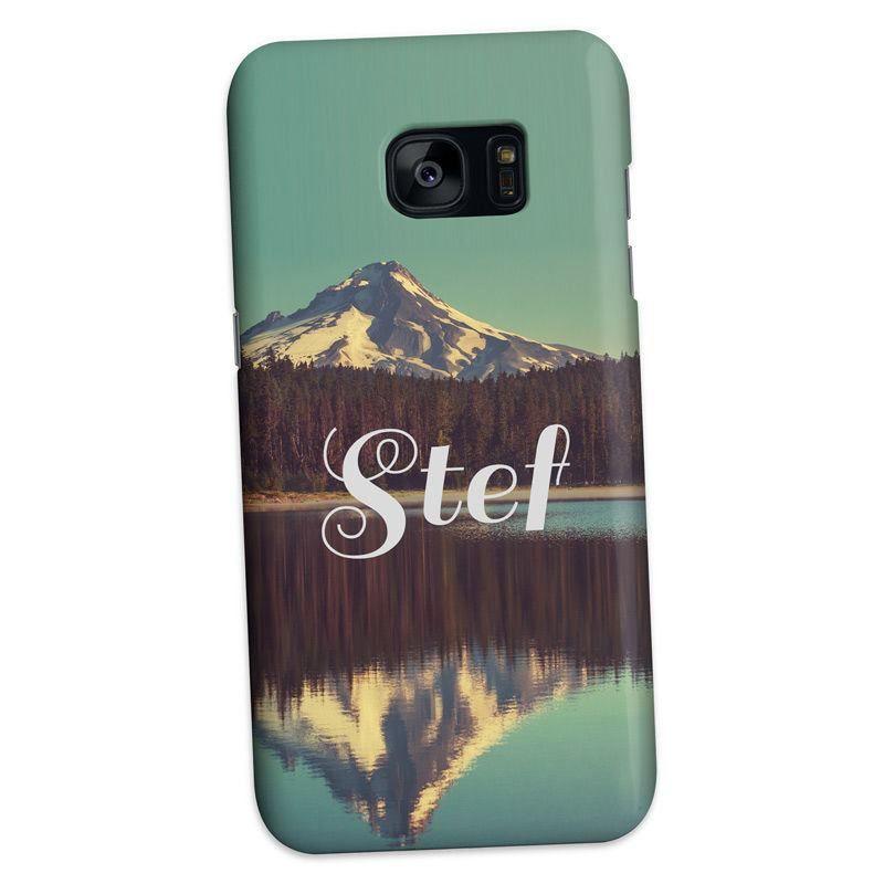 Custom Case Galaxy S7 Edge. Print Personalised Samsung Case