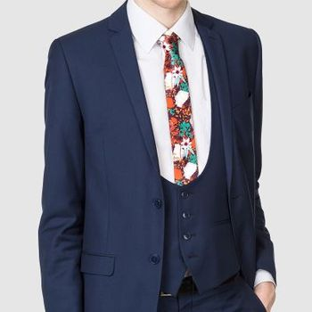 custom ties with waistcoat