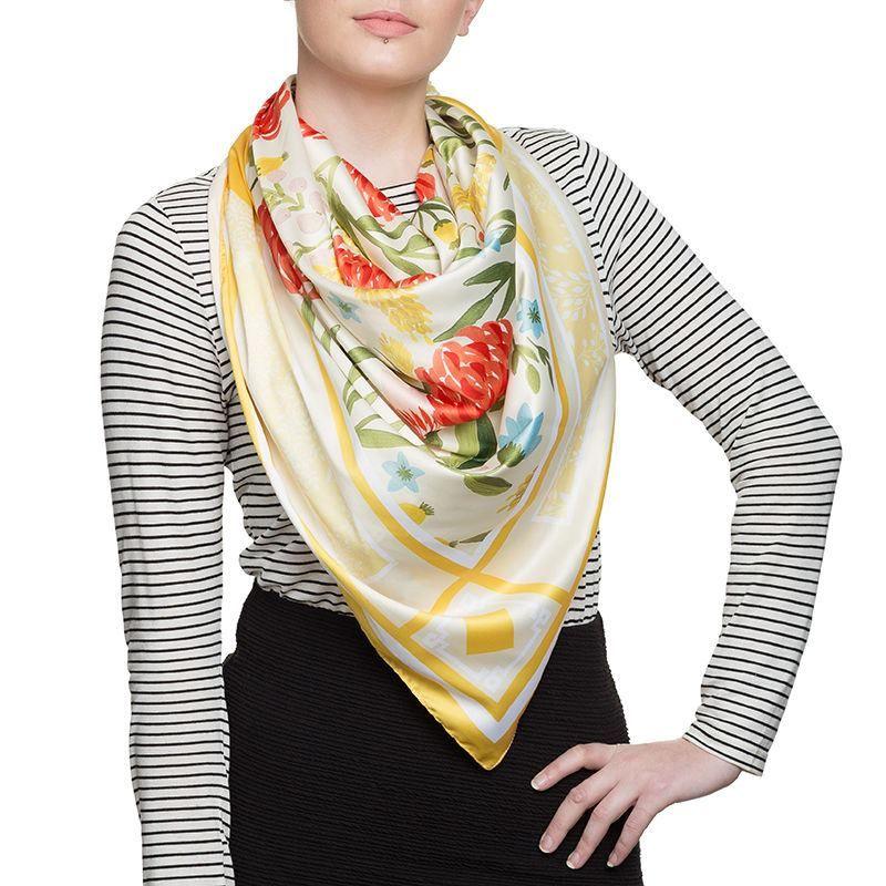 printed scarves