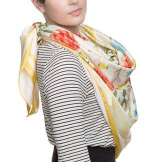 pañuelo de seda personalizado para el día de reyes