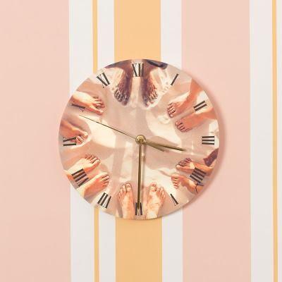 Reloj redondo con foto