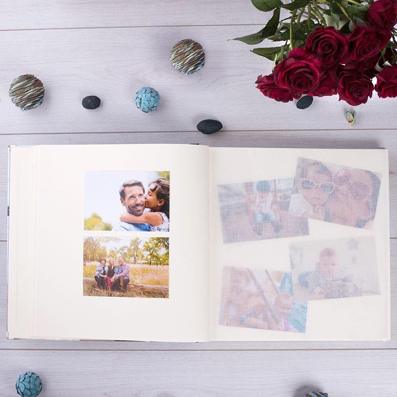 self mounting photo album print
