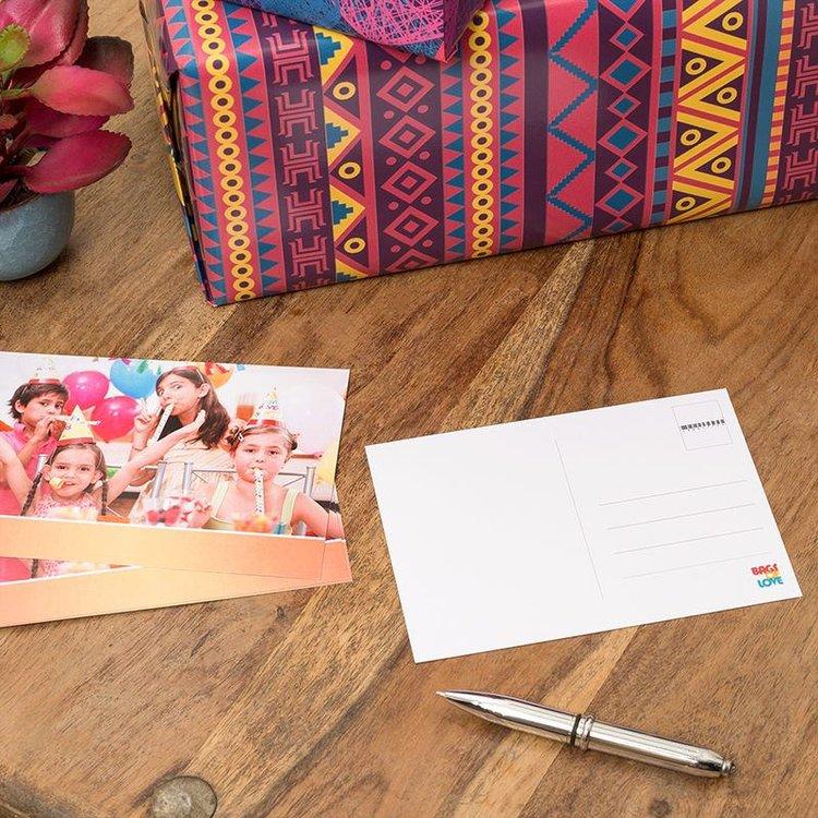 gepersonaliseerde foto postkaarten