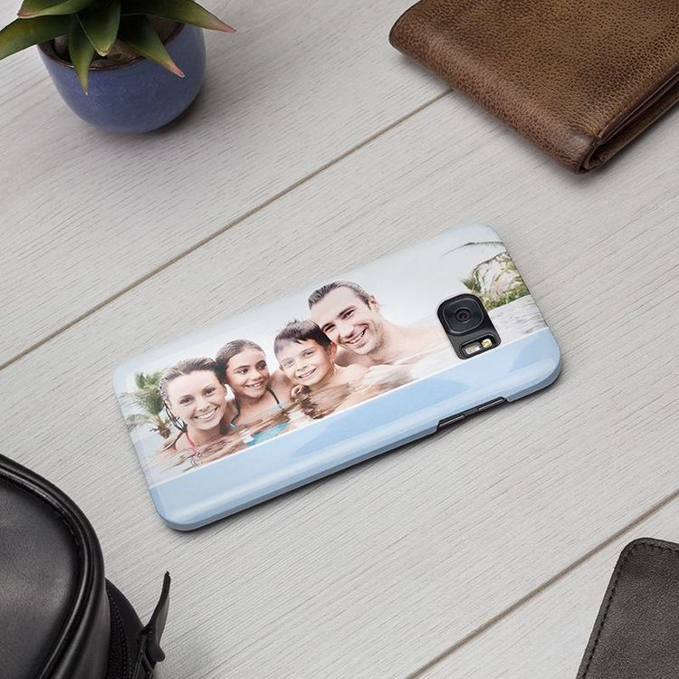 Cover Personalizzata Samsung S7 Edge con foto famiglia