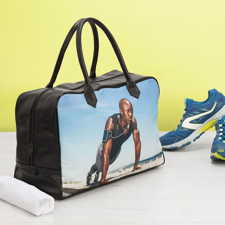 gepersonaliseerde gymtassen bedrukt met foto
