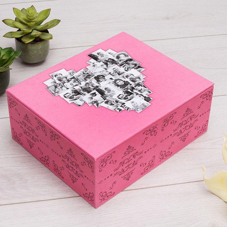 box gestalten mit fotos