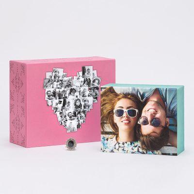 jewellery box with photo
