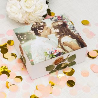 box mit fotos als hochzeitsgeschenk selber machen