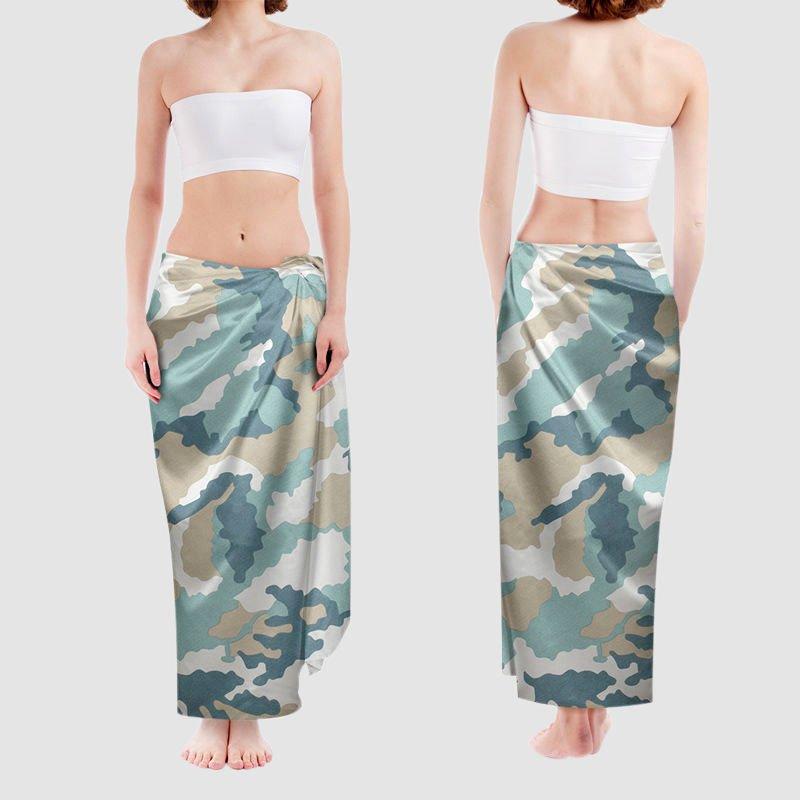custom beach sarong