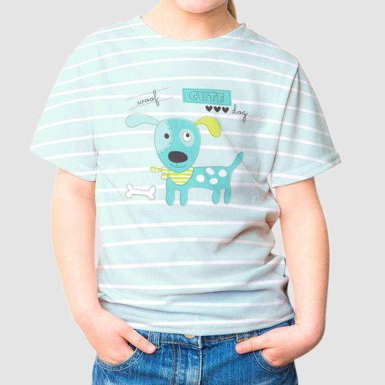 Kinder T Shirt mit Foto