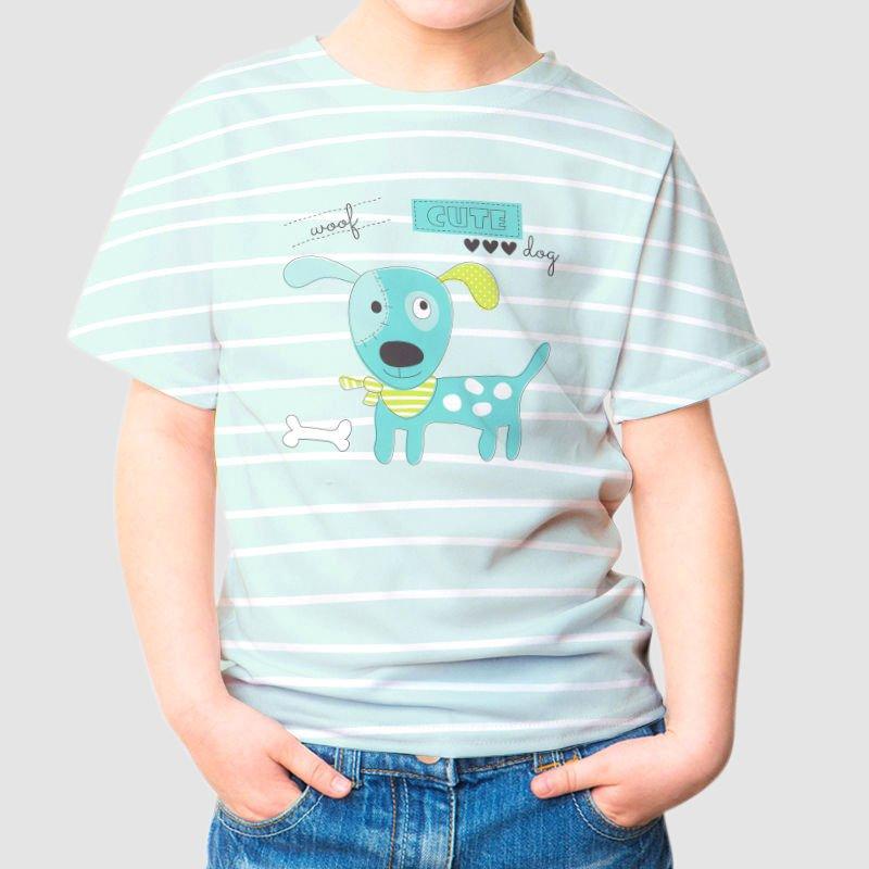 Personlig t-shirt barn