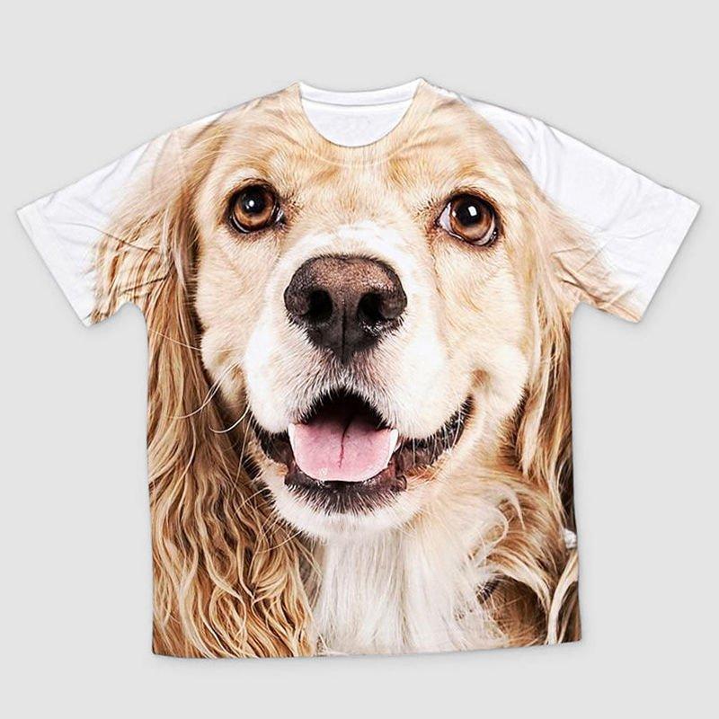 Hund t-shirt barn