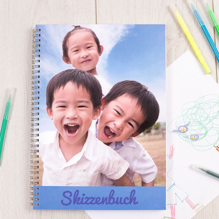 skizzenbuch gestalten