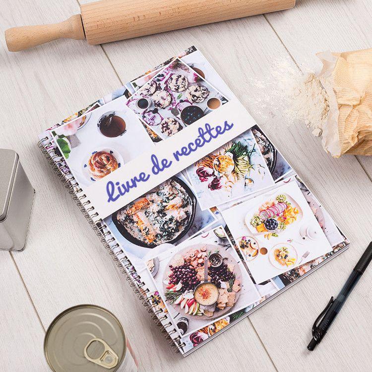 Cahier de recette personnalisé