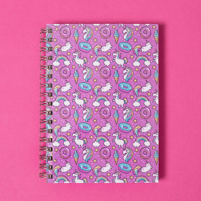 custom spiral bound notebook cover