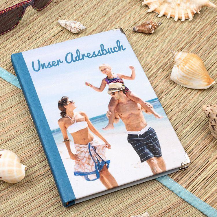 Foto Adressbuch selbst gestalten