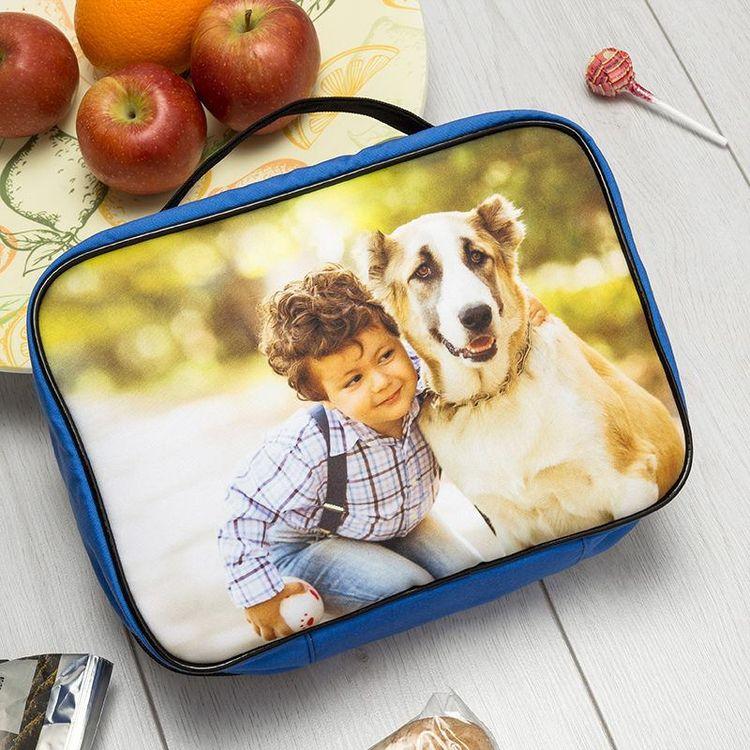 bolso almuerzo con foto