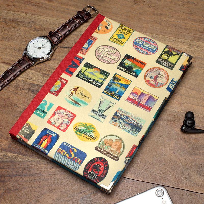 Journal intime original pour les voyages