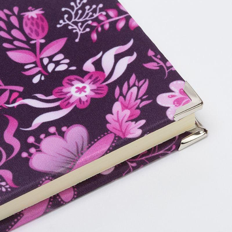 metal corner caps for custom journals