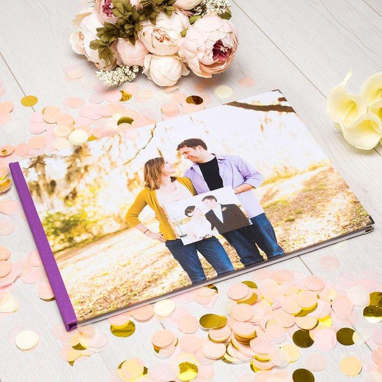 Photo Book Guest Book: Personalised Visitors Book: Design A Unique Photo Guest Book