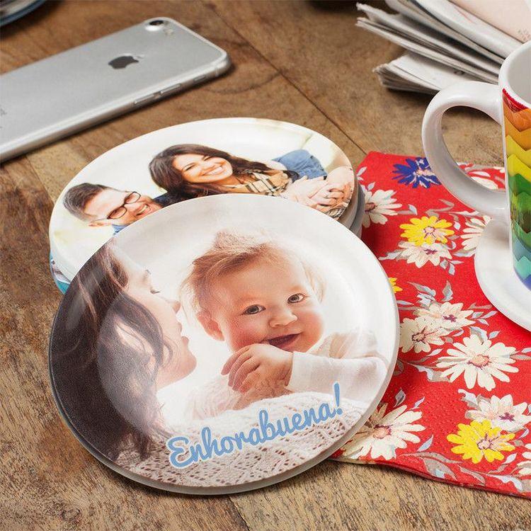 Platos multiusos personalizados con foto