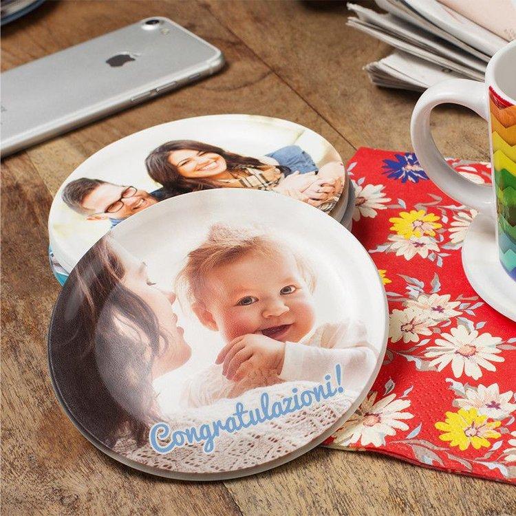 piattini da caffè personalizzati