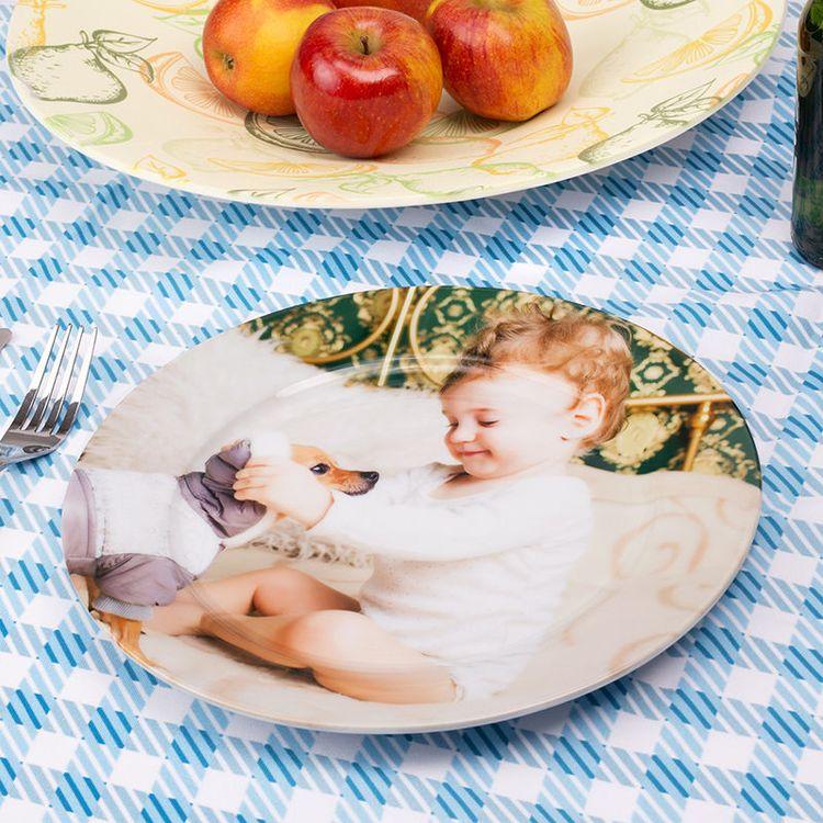 定制儿童餐盘和桌布