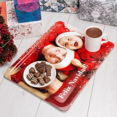 bandejas navideñas