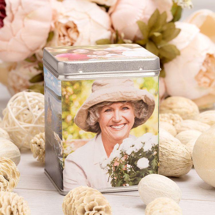 custom tea tin