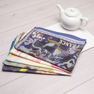 tea towel printing with text