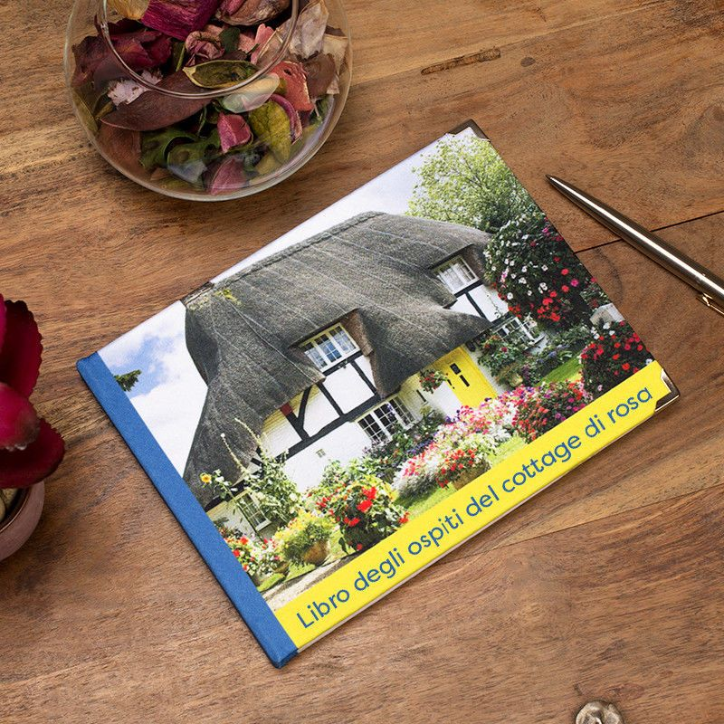 Guestbook personalizzato stampa il tuo libro degli ospiti for Libro degli ospiti