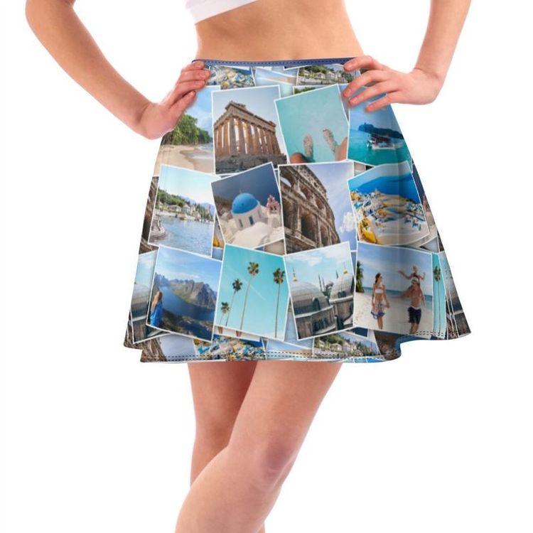 foto collage ontwerp je eigen rok
