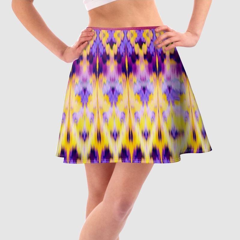 プリント スカート
