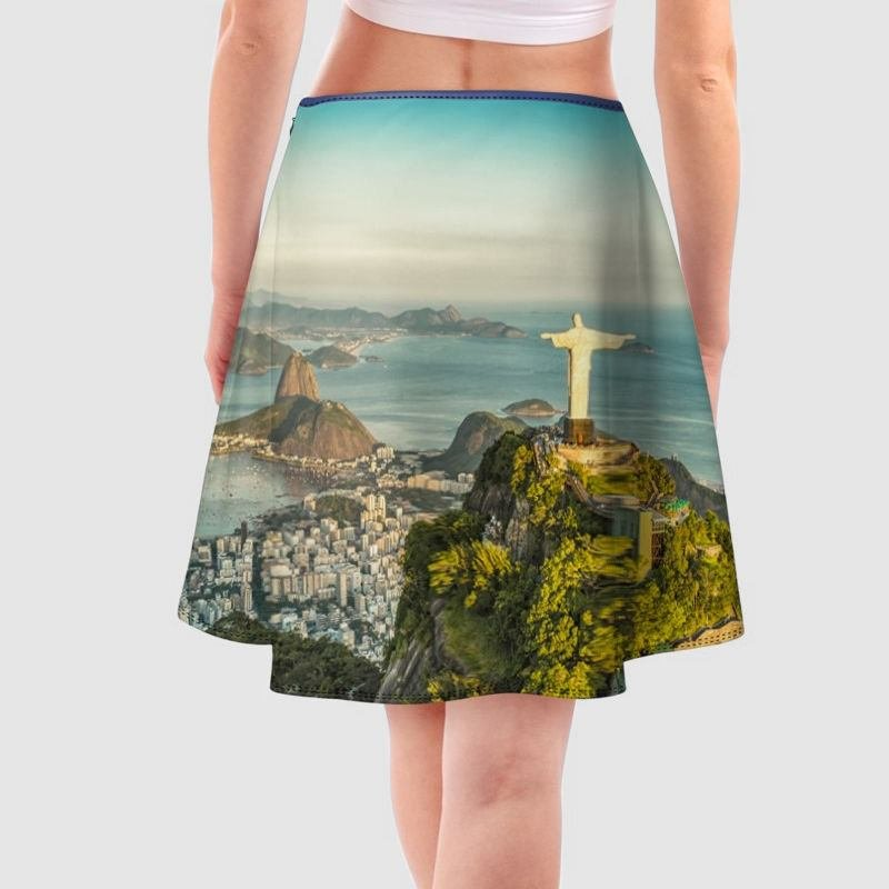Faldas estampadas con fotos