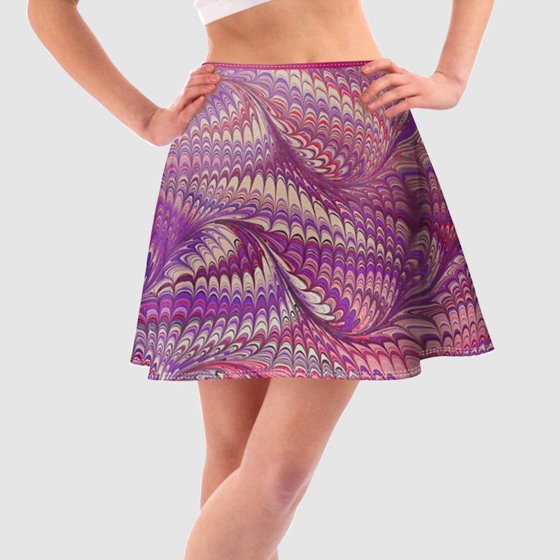 デザインプリント スカート